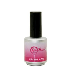 CRYSTAL COAT ROBY NAILS